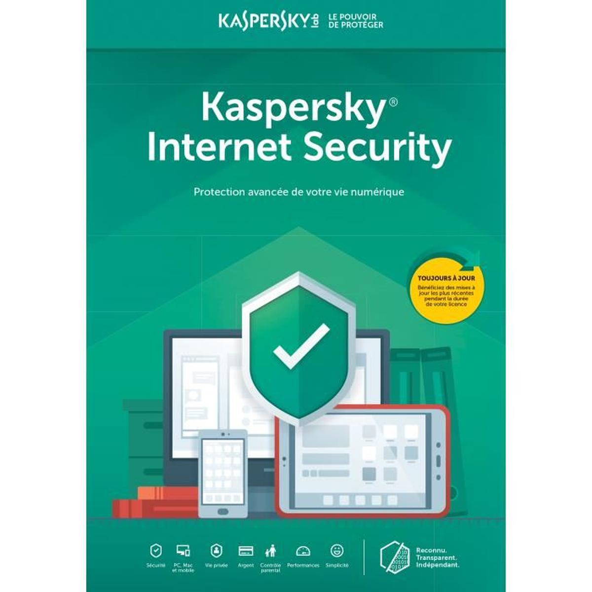 Kaspersky Total Security 2019 5 Postes Multi-Devices